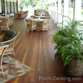 wood porch decking